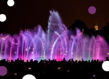 Multimedialny Park Fontann w Warszawie - Harmonogram pokazów 2021