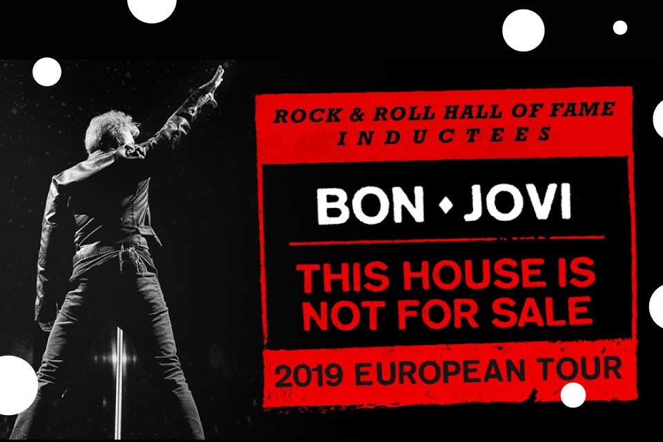 Bon Jovi - This Hous Is Not For Sale Tour