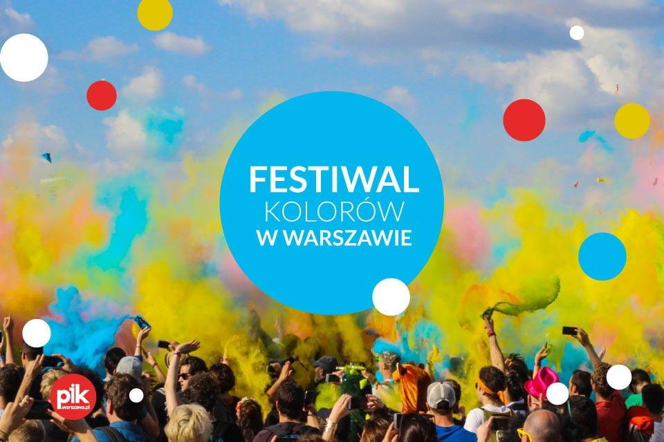Festiwal Kolorów 2020 w Warszawie