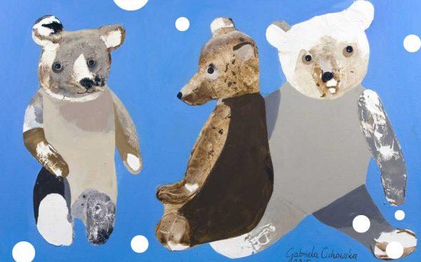Niedźwiedzie i Niedźwiadki | wystawa prac Gabrieli Cichowskiej