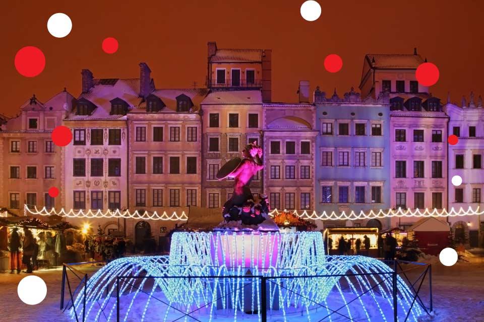 Jarmark Bożonarodzeniowy 2019 w Warszawie