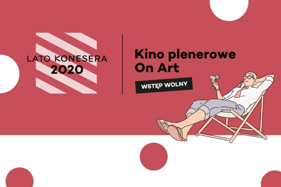 Kino plenerowe w Centrum Praskie Koneser