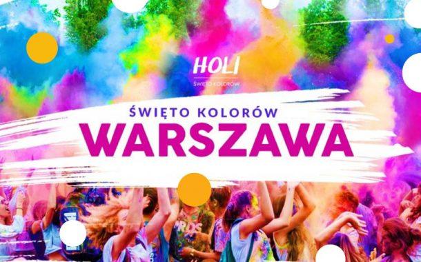 Holi Święto Kolorów w Warszawie - odwołano