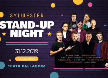 Sylwester Stand-up Night | Sylwester 2019/2020 w Warszawie