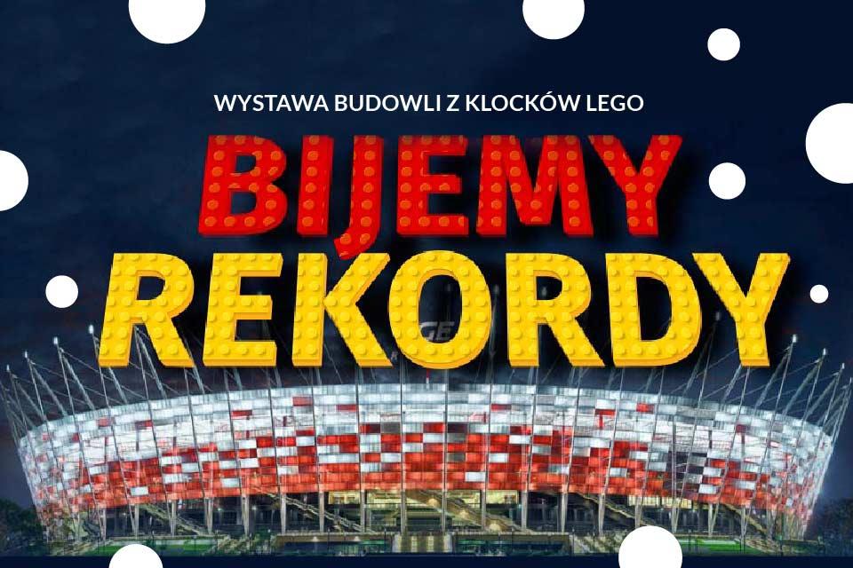Wystawa klocków Lego na Stadionie Narodowym