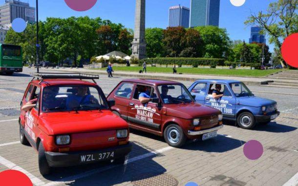 Wycieczka Maluchem po Warszawie
