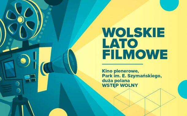 Kino plenerowe w Parku im. E. Szymańskiego