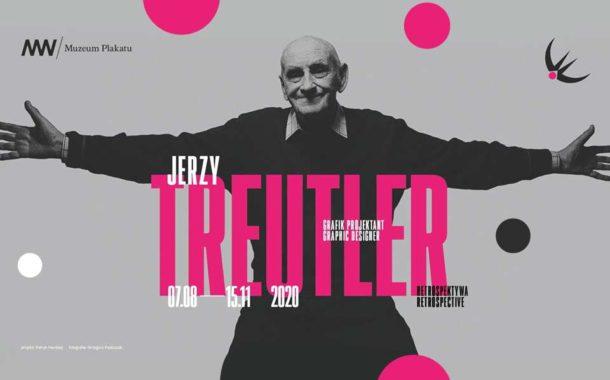 Jerzy Treutler - Grafik projektant. Retrospektywa | wystawa