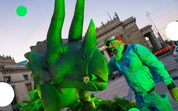 Dinozaury z Parku Jurajskiego w Warszawie