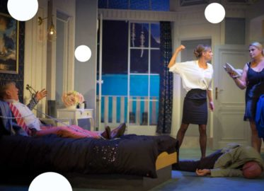 W łóżku z rabusiem   spektakl