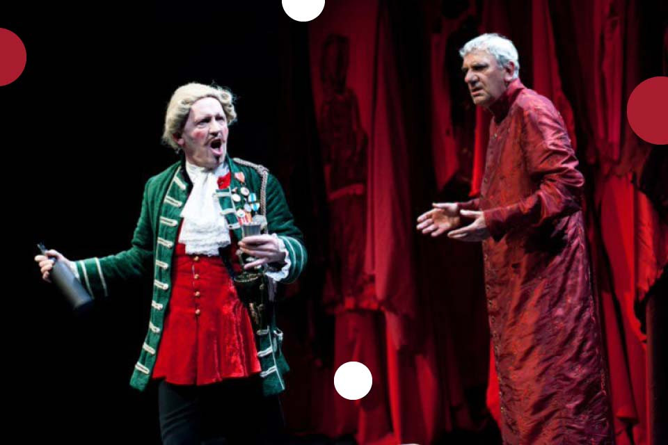 Zemsta | spektakl - Och Teatr