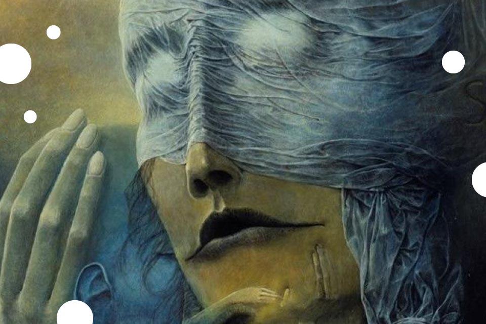 Beksiński - kolekcja Anny i Piotra Dmochowskich | wystawa