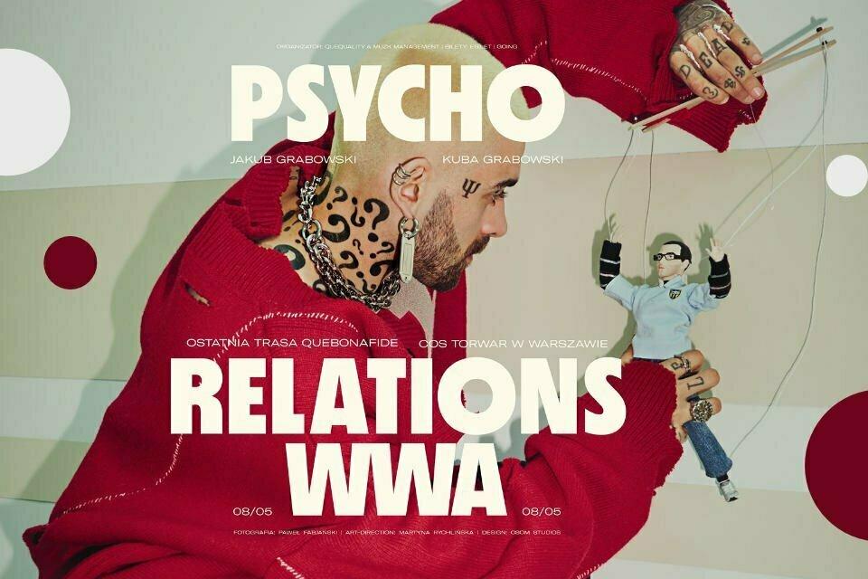 Quebonafide - Psycho Relations   koncert